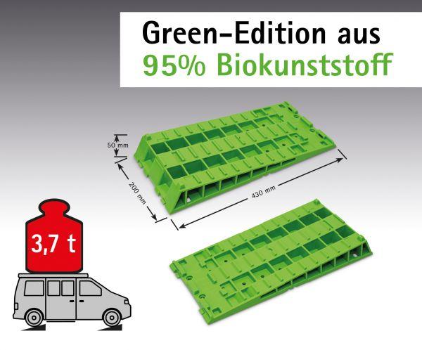 Kompaktkeil Set Green-Edition (95% Biokunststoff) inklusive Tasche