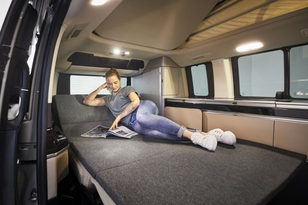 Froli Schlafauflage für Mercedes V-Klasse Marco Polo